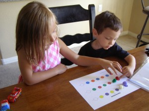 Babysteps to Homeschooling: Busy Bags