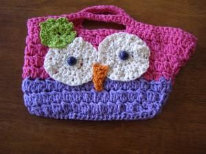 Off My Hook: Owl Purse