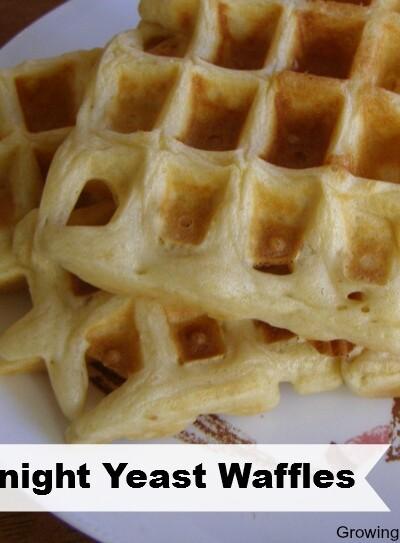 Overnight Yeast Waffle Recipe