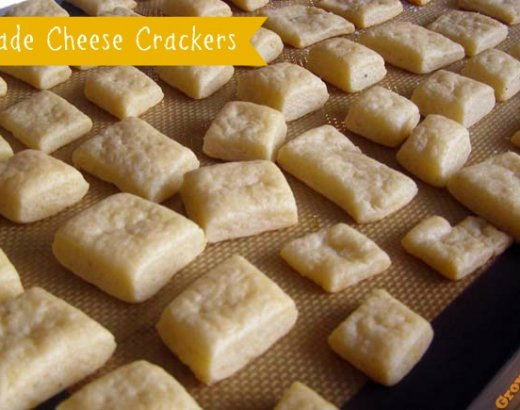 Homemade Cheese Cracker Recipe
