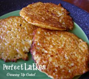 The Perfect Latkes (or Potato Pancakes)