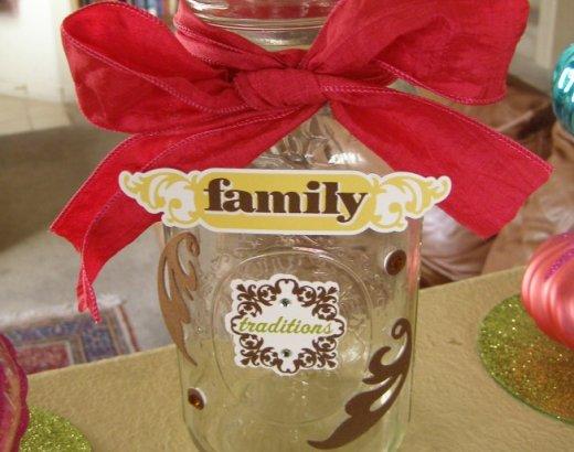 Holiday Gift Idea: Family Memory Jars
