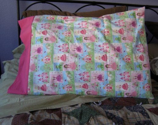 Simple Sewn Pillowcases