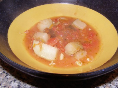 Manhattan Clam Chowder - Growing Up Gabel