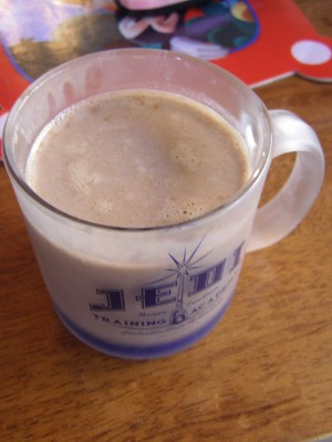 Hearty Hot Cocoa - Growing Up Gabel