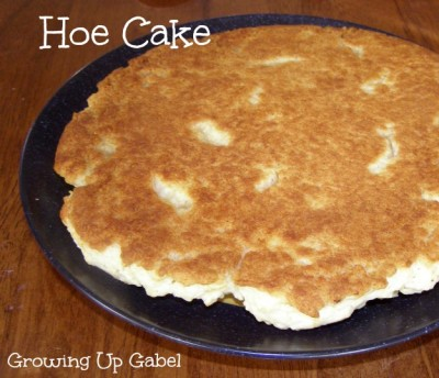 Hoe Cake Biscuit Recipe from growingupgabel.com @thegabels #recipe