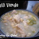 Chili Verde - Growing Up Gabel @thegabels