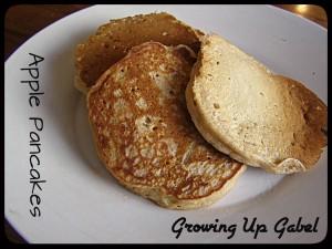 Apple Pancakes ~ Growing Up Gabel