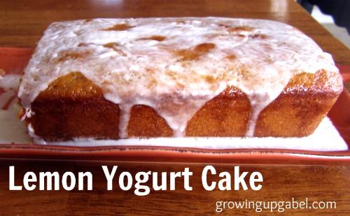 Home Family Recipes Lemon Yogurt Cake