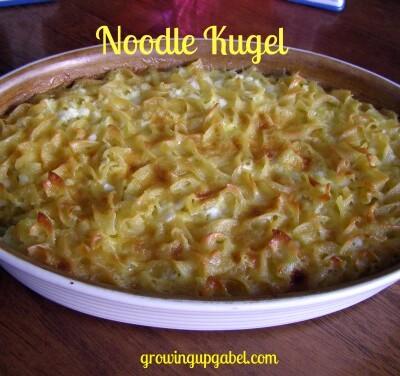 Noodle Kugel from growingupgabel.com @thegabels #Passover #recipe