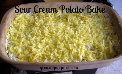 Sour Cream Potato Bake