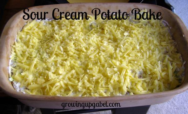 Sour Cream Potato Bake