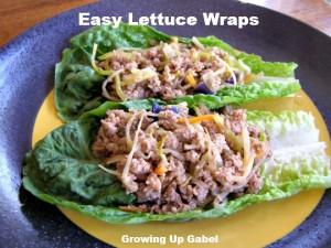 Easy Turkey Lettuce Wraps