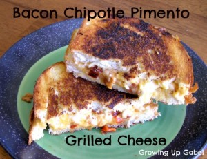 Grilled Bacon Chipotle Pimento Cheese ~ Growing Up Gabel