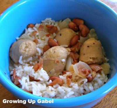 Cajun Beans and Rice ~ Growing Up Gabel