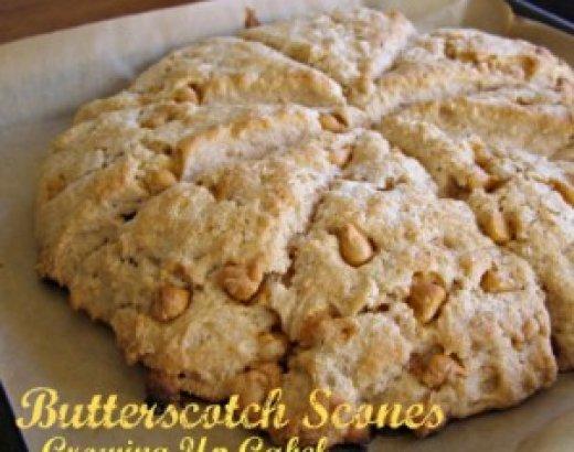 Butterscotch Scones