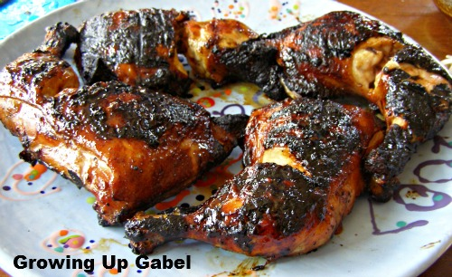 Grilled Hawaiian Chicken ~ Growing Up Gabel
