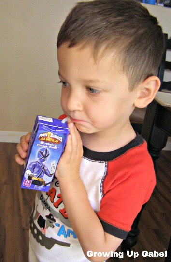 Power Rangers Juice Box