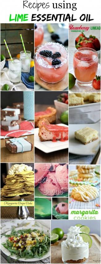 Recipes-using-Lime-Essential-Oils