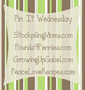 Pin It Wednesday at Growing Up Gabel