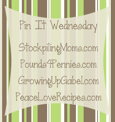 Pin It Wednesday Linky Party