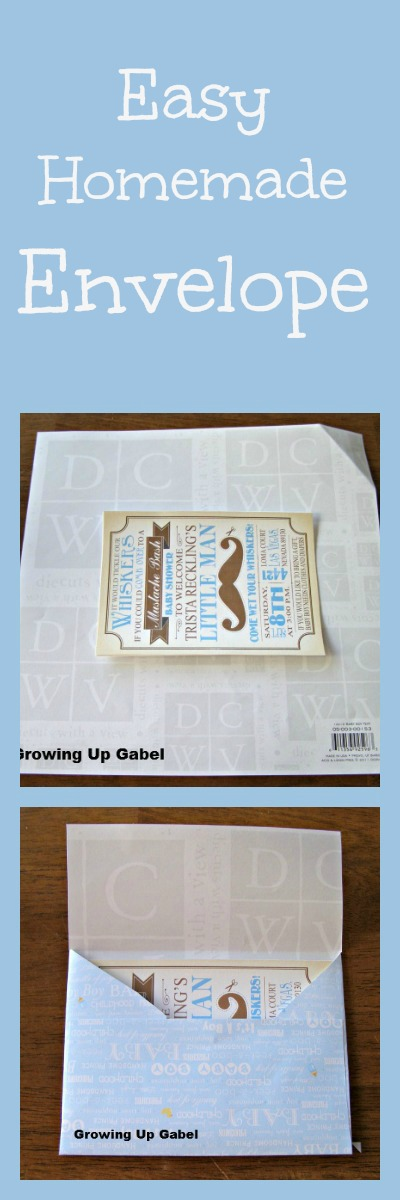 How to Make an Envelope from growingupgabel.com @thegabels #crafts