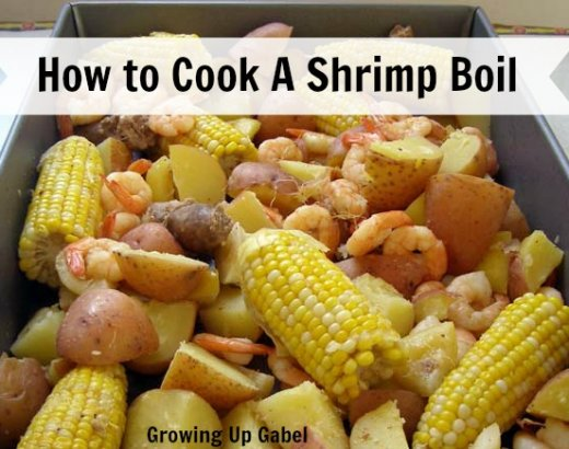 How to Cook a Shrimp Boil