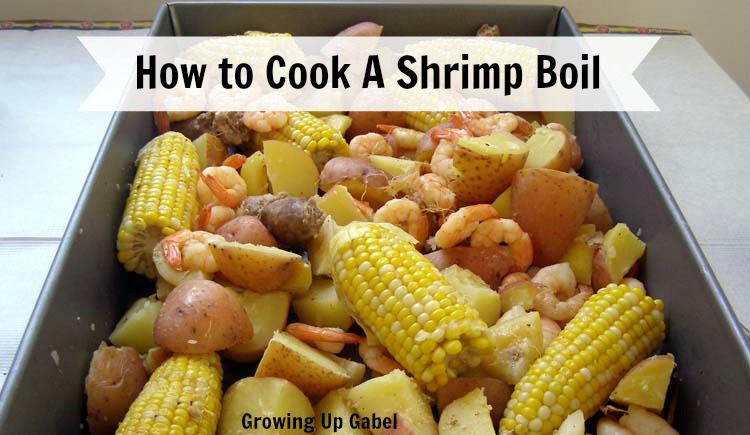 Simple home table decorations - How To Cook A Shrimp Boil
