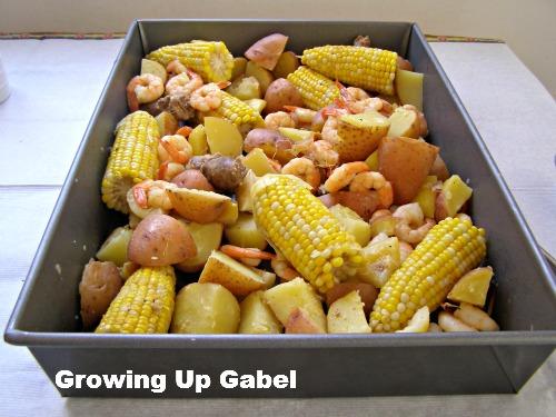 Shrimp Boil ~ Growing Up Gabel