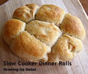 Slow Cooker Bread: Easy Dinner Rolls