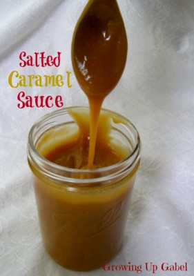 Homemade Caramel Sauce - Growing Up Gabel