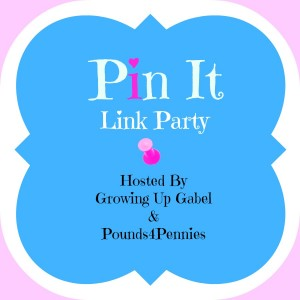 Pinterest Pin It Linky Party @ Growing Up Gabel