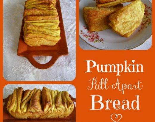 Pull-Apart Pumpkin Bread Recipe