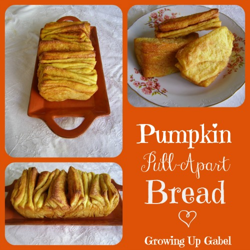 Pull-Apart  Pumpkin Bread