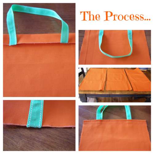 Easy to Sew Trick or Treat Bag