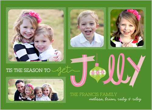Ribbon Christmas Card