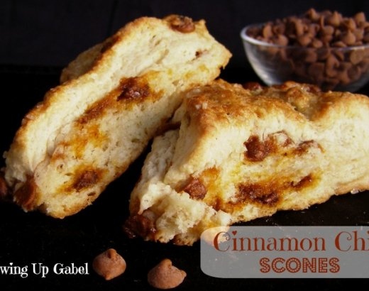 Cinnamon Scones with Cinnamon Chips