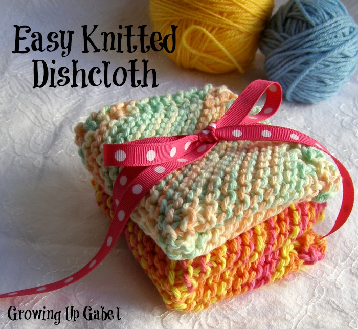 Easy Knitted Discloth