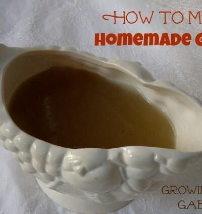 How to Make Homemade Gravy
