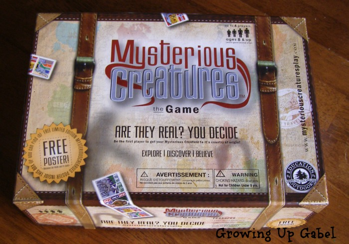 Family Board Games for Christmas - Mysterious Creatures