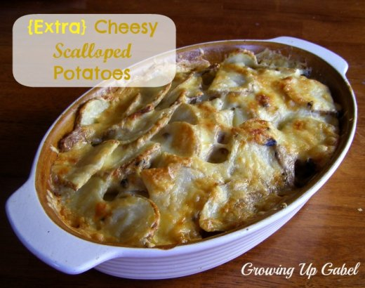 Scalloped Potatoes for the Oven or the Slow Cooker