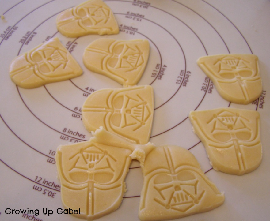 Darth Vader Sugar Cookies