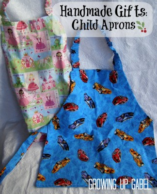 Handmade Christmas Gifts: Child Apron