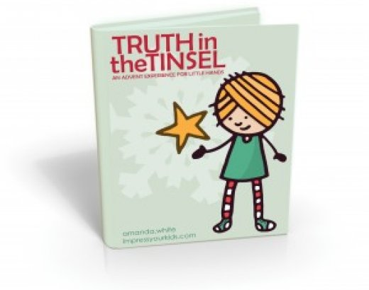 Celebrating Advent with Kids: Truth in the Tinsel