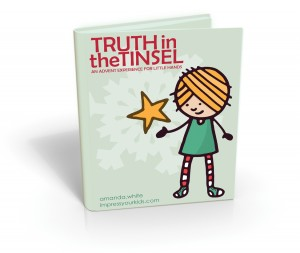 Truth In the Tinsel Advent Book for Kids