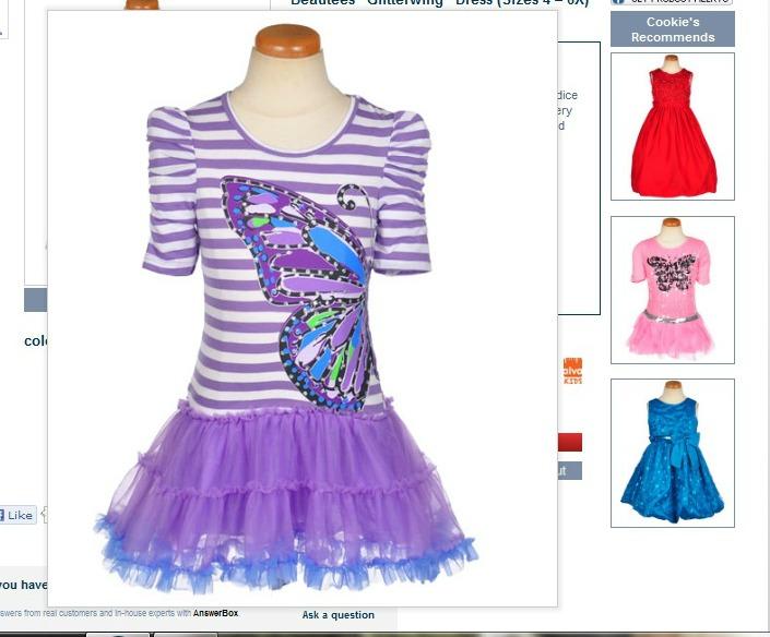 Cookie's Kids Butterfly Dress