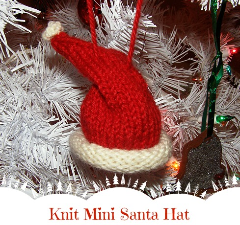 Knitted Christmas Ornaments Patterns : Handmade Christmas: Knit Christmas Ornaments