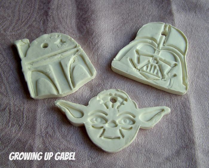 Homemade Star Wars Christmas Ornaments