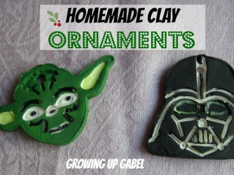 Homemade Clay Christmas Ornaments: Star