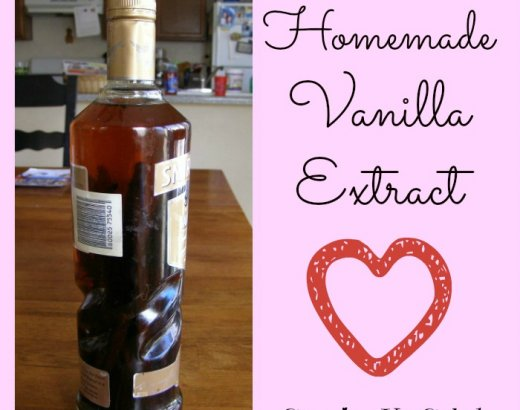 Homemade Vanilla Extract Recipe: Iron Chef Mom